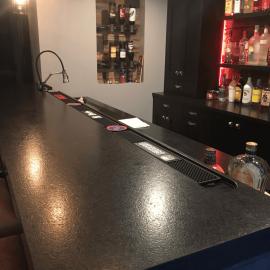Black+Quartz+Bar+Top+in+Amherst+NY