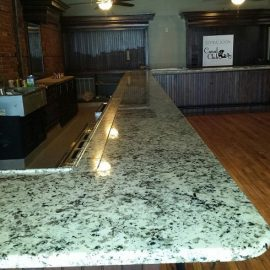 Granite+Counter+in+Canal+Club+Buffalo+NY