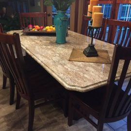 Granite+Kitchen+Table+in+Amherst+NY