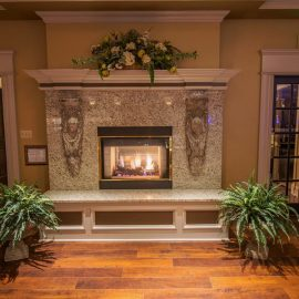 Marble+Fireplace+Mantel+in+Koteckis+Grandview+Grove+Buffalo+NY
